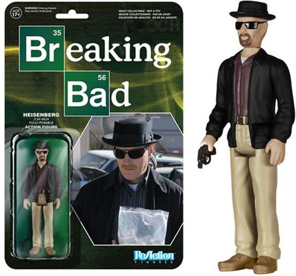 Heisenberg Breaking Bad ReAction Figure,  Drama TV by Funko