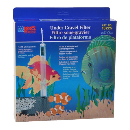 Lees Lee's Original Under Gravel Filter 20 Gallon - (10