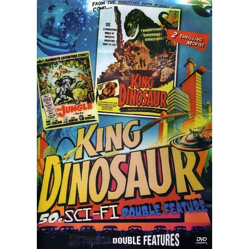 50s Sci-Fi Double Feature: The Jungle / King Dinosaur