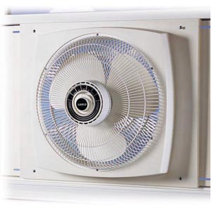 Lasko 2155A 16 in. Electrically Reversible Window Fan