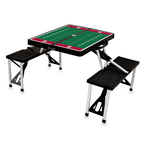 Indiana Hoosiers Picnic Table Black No Size by Picnic Time