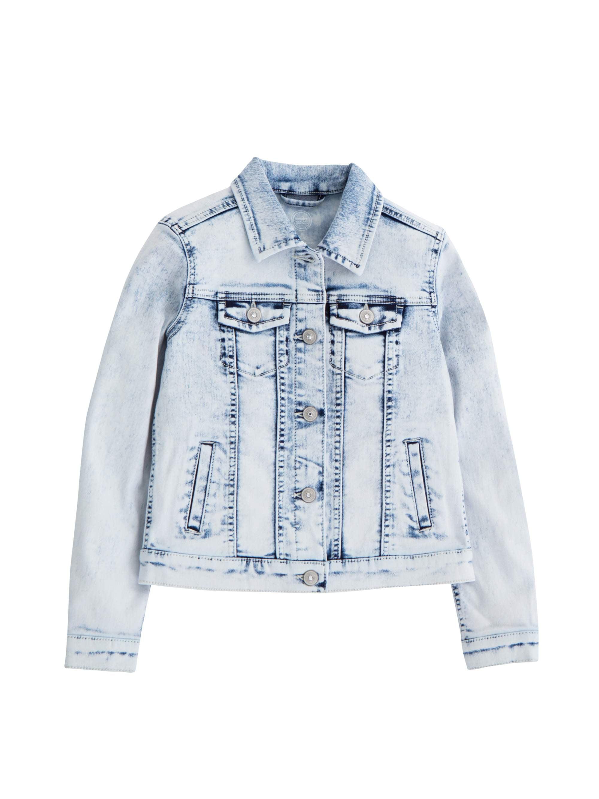 ea69a2e01caa Wonder Nation - Denim Jacket (Little Girls, Big Girls & Big Girls Plus) -  Walmart.com