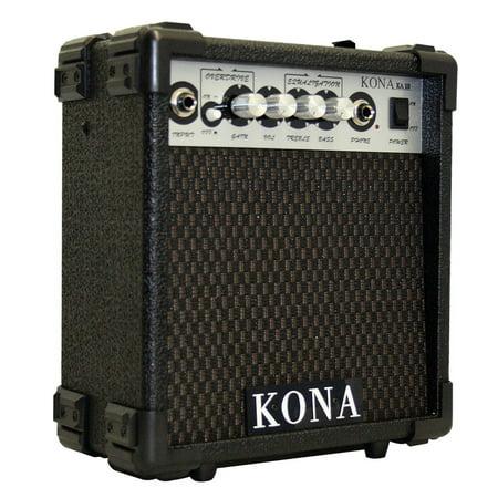 Kona KA10 10 Watt Guitar Amplifier With 5 Inch Speaker, Headphone Jack And