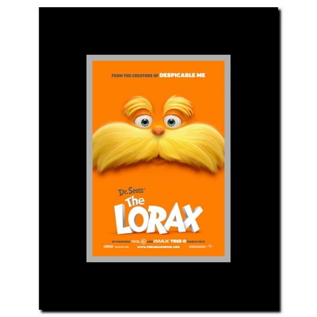 Dr. Seuss' The Lorax Framed Movie Poster](Dr Seuss Poster)