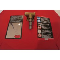 """15"""" SURFACE CLEANER ATTACHMENT with 2 Stainless Steel Nozzles Spin Over 2000 RPM"""