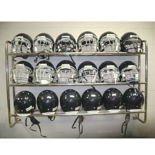 Wall Mounted Helmet   Ball Rack by Pro Down