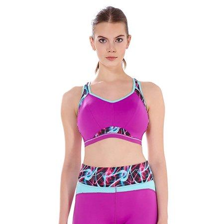 de4f453668 Freya - Freya Epic Women`s Underwire Crop Top Sports Bra with Molded Inner