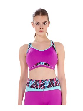 1fb21e642a Product Image Freya Epic Women`s Underwire Crop Top Sports Bra with Molded  Inner