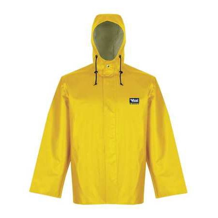 Viking 5125j S Hooded Rain Jacket Yellow 37 Chest Men S