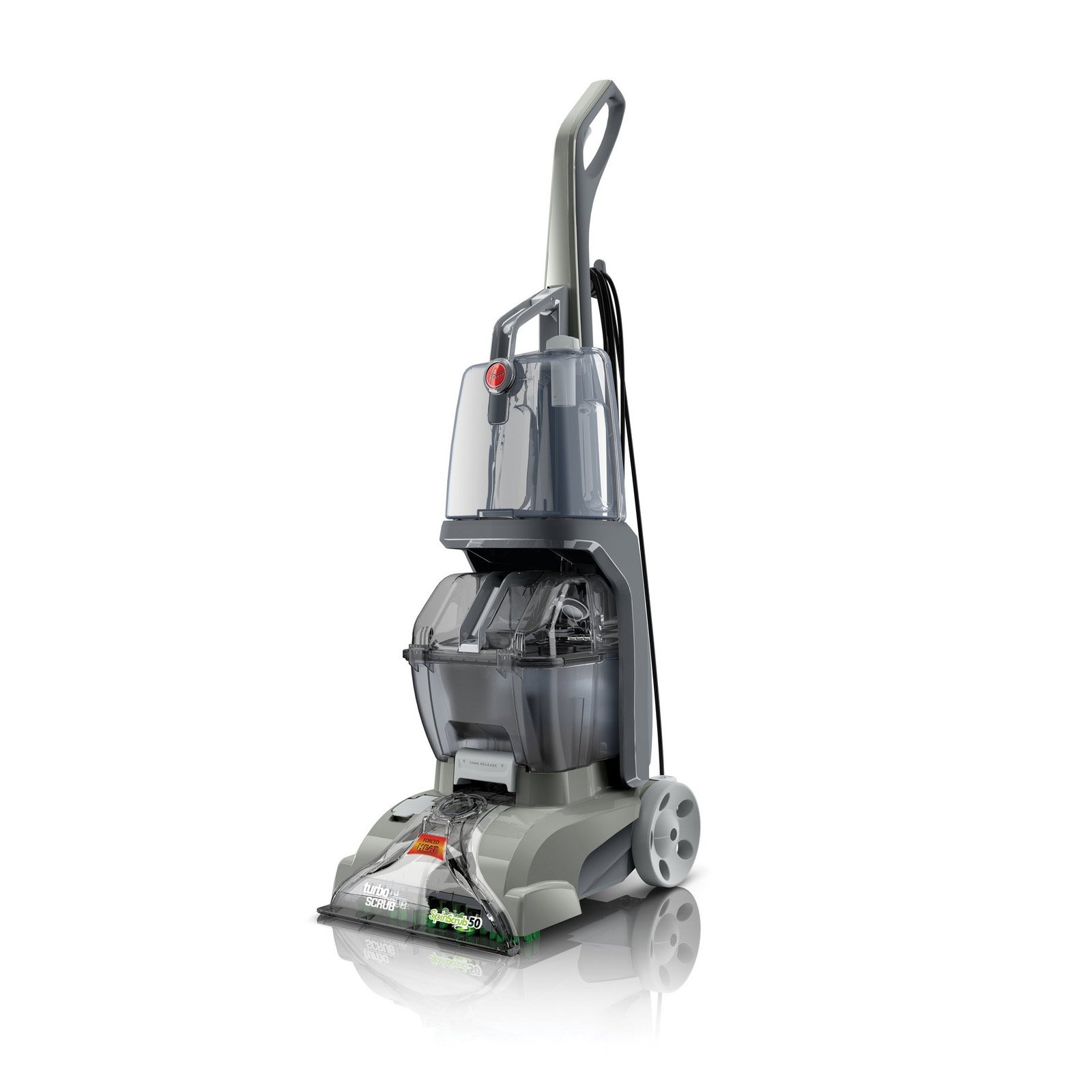 Hoover Turbo Scrub Lightweight Dual Tank Home Carpet and ...