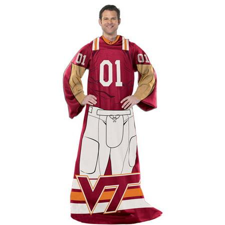 "NCAA Virginia Tech Hokies Player 48"" X 71"" Full Body Comfy"