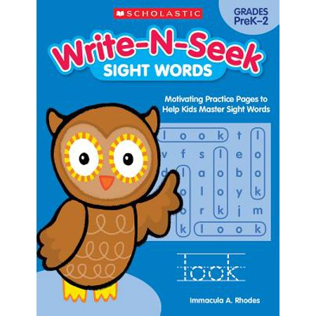 Sight Words : Motivating Practice Pages to Help Kids Master Sight Words