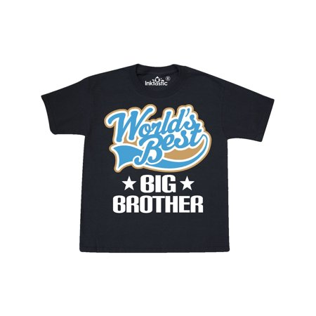 Worlds Best Big Brother Youth T-Shirt (World Best Army Name)
