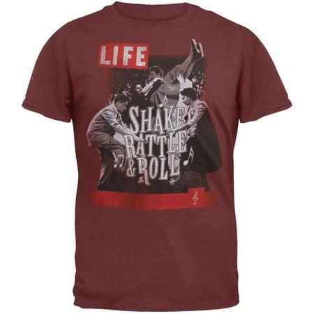Life Magazine - Shake Rattle Roll T-Shirt - Large