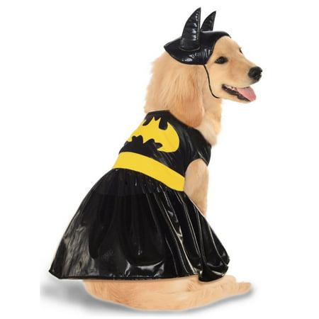 Halloween Batgirl Pet Costume