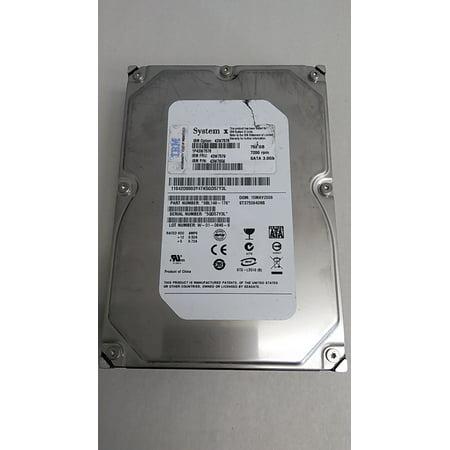 "Refurbished Seagate IBM ST3750640NS Barracuda ES 750GB 3.5"" SATA II (3.0Gb/s) Enterprise Hard Drive"