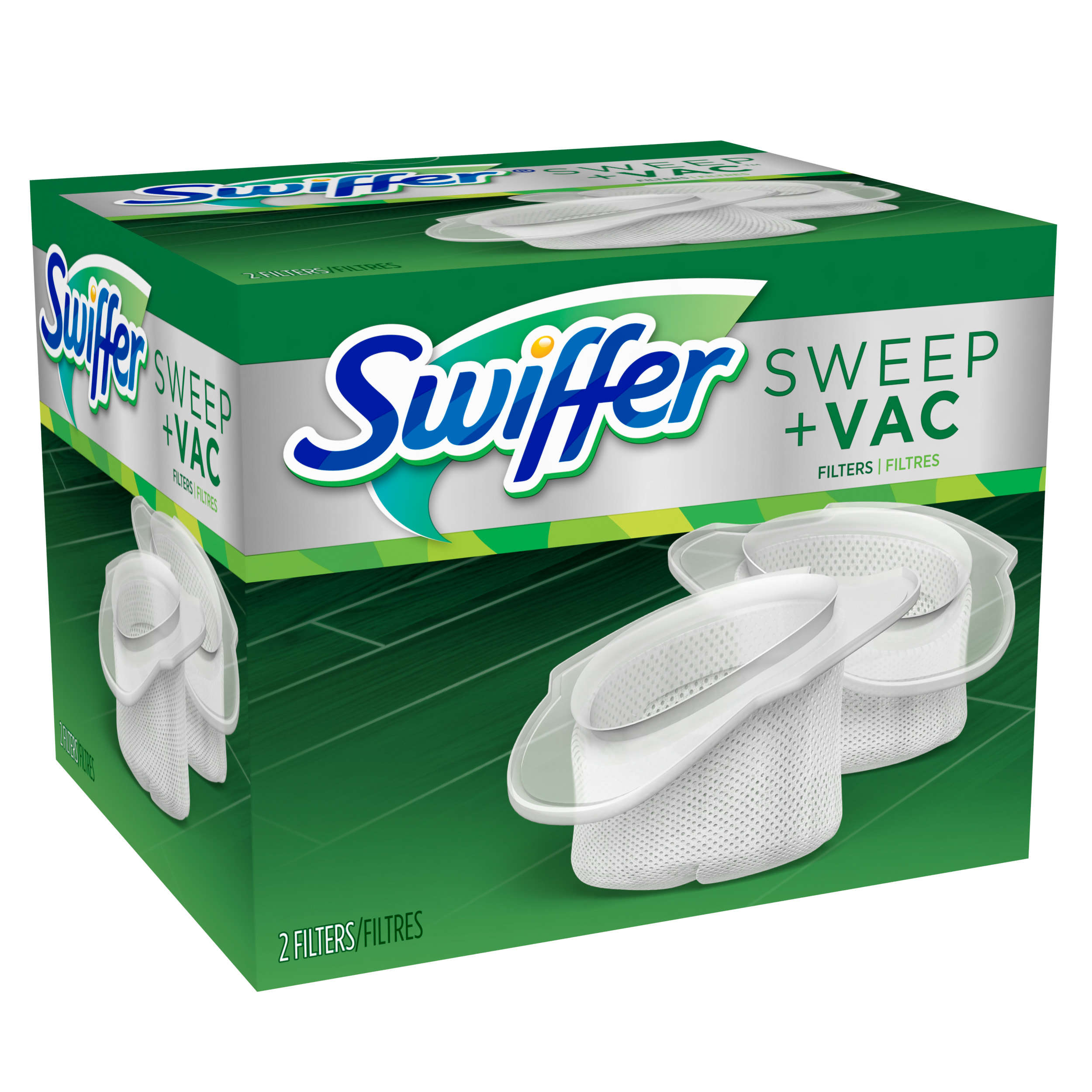 Swiffer Sweep + Vac Vacuum Replacement Filter, 2 Count