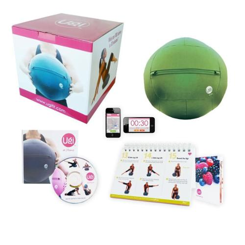 Ugi Fitness at Home 12-pound Green Exercise Ball