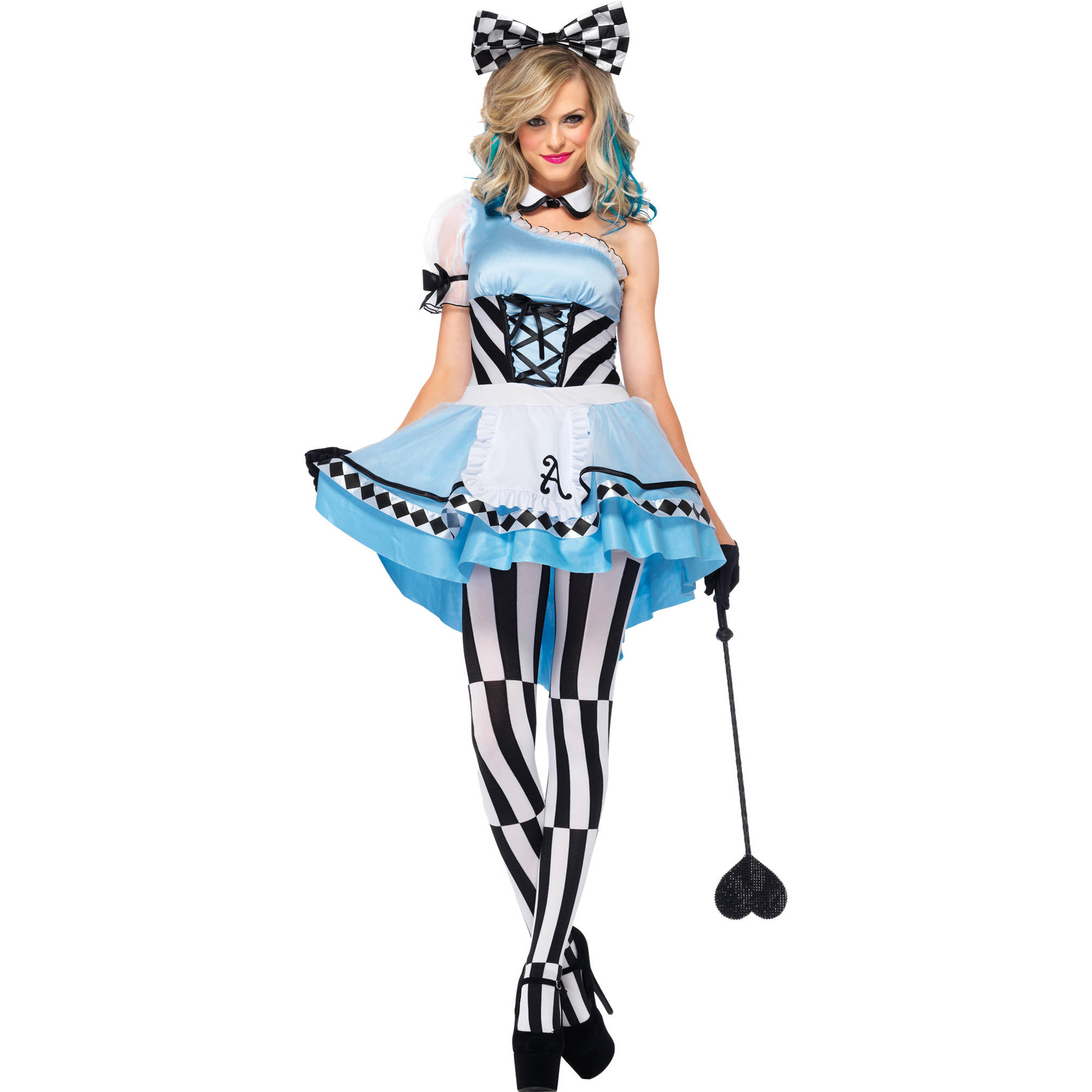 Alice Psychedelic 3-Piece Women's Adult Halloween Costume