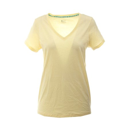 Hue Yellow Short-Sleeve-Neck Pajama T-Shirt S
