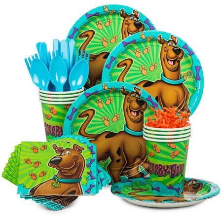 Scooby Doo Standard Kit (Serves 8) - Party Supplies