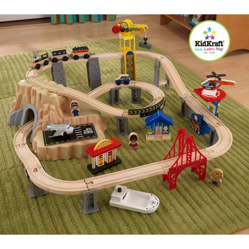 KidKraft 60-Piece Train Set