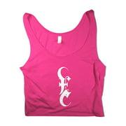Emmure  E Logo Pink Crop Top Girls Jr Pink