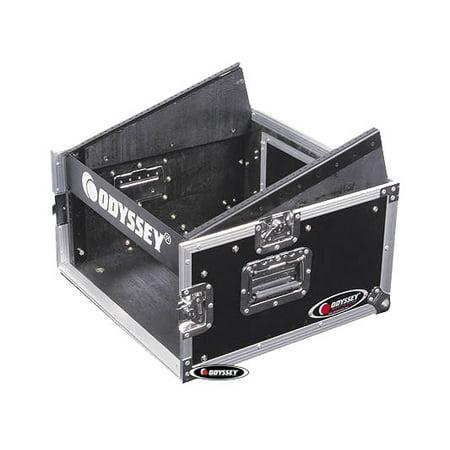 Odyssey Cases FZ1004 New Ata Combo DJ Rack Flight Ready Mixer Case 10X4 Spaces ()