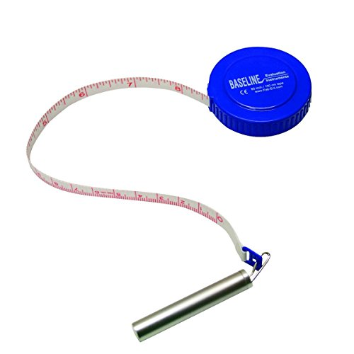 Baseline Gulick measurement tape, plastic case, 120""