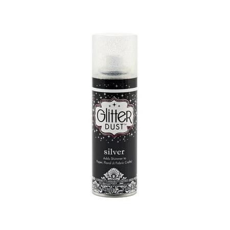 Therm O Web Glitter Dust Ultra Fine Sp 3.39oz Slvr