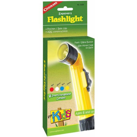 Coghlan's Flashlight for Kids (Children's Flashlight)