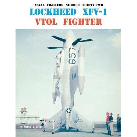 Lockheed Xfv-1 Vtol Fighter
