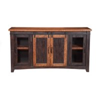 Martin Svensson Home Barn Door TV Stand - Multiple Finishes