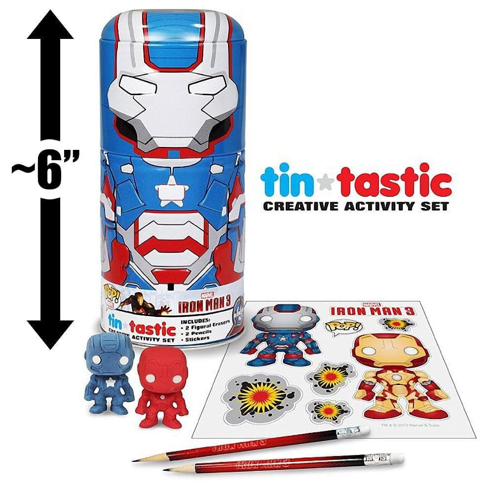 Funko Iron Man 3 Iron Patriot Can-Tivities Activity Set