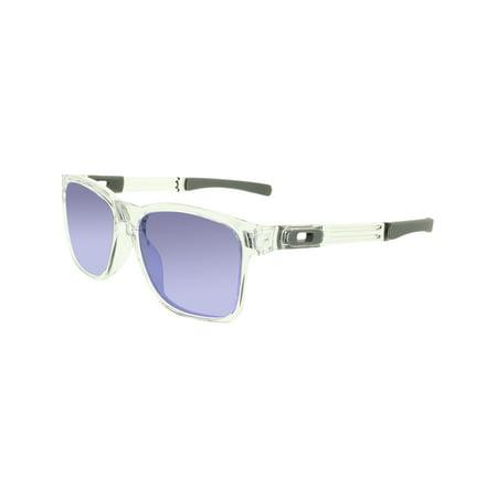04ed778edb Oakley Men s Catalyst OO9272-05 Clear Square Sunglasses - image 3 ...