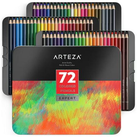 Arteza Professional Colored Pencils (Set of 72) - Walmart.com