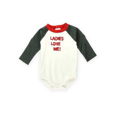 Gymboree Boys Ladies Love Me Bodysuit Embellished T Shirt