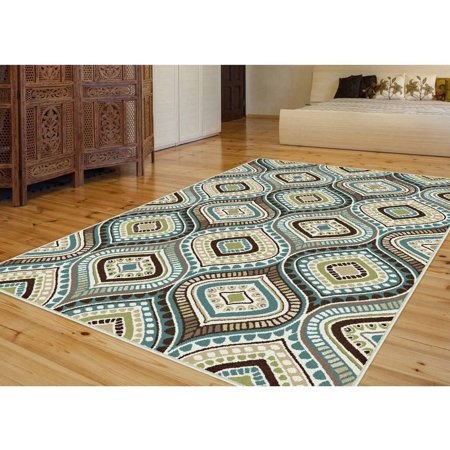 bliss rugs auria contemporary area rug walmart 87751