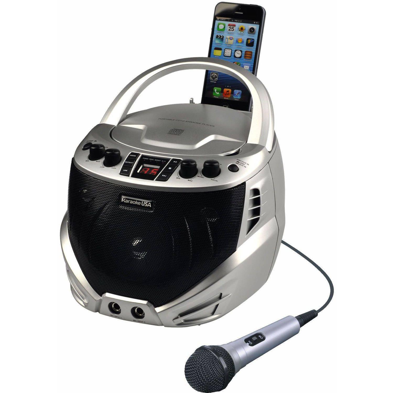 Karaoke USA Gq262 Portable Karaoke CD+G Player