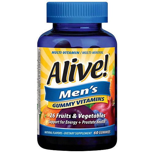 Alive! Men's Gummy Vitamins, 60 count