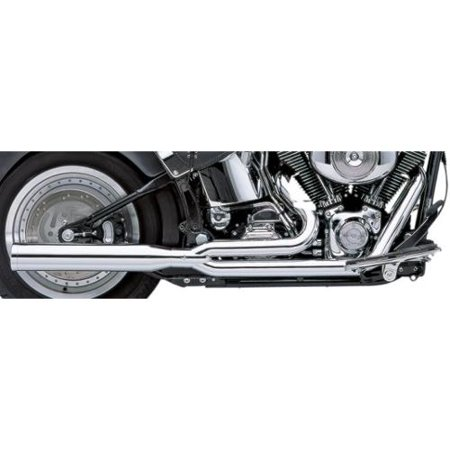 Cobra Power Pro HP 2-Into-1 Exhaust Chrome Fits 00-06 Harley
