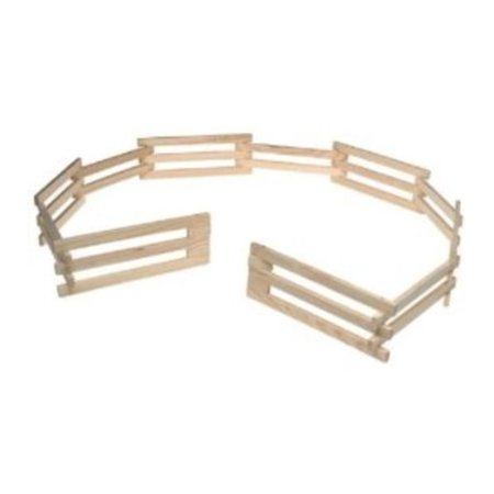Breyer Traditional Wood Corral Fencing Accessory Toy (1:9 Scale)