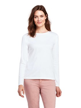 Women's Long Sleeve Supima Crewneck T-Shirt