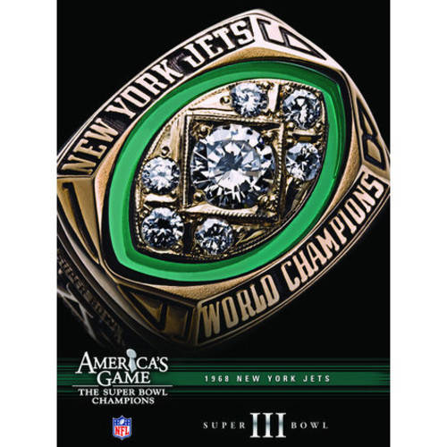 Nfl America's Game: 1968 Jets (Super Bowl II) ( (DVD)) by CINEDIGM MOD