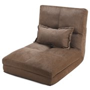 Best Futon Loungers - Costway Fold Down Chair Flip Out Lounger Convertible Review