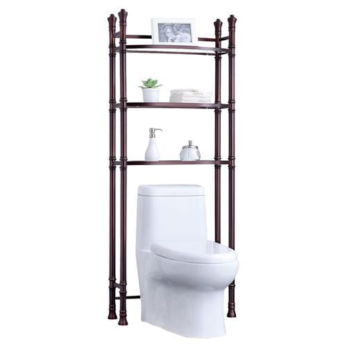 Fox Hill Trading Monte Carlo 26'' x 67'' Bathroom Space Saver Shelf