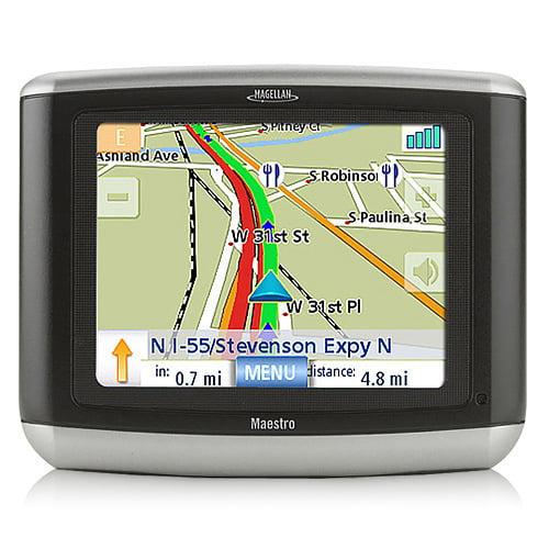 Refurbished Magellan Maestro 3100 (48 United States) 3.5 Inch Automotive GPS w/ 750,000 Points of Interest