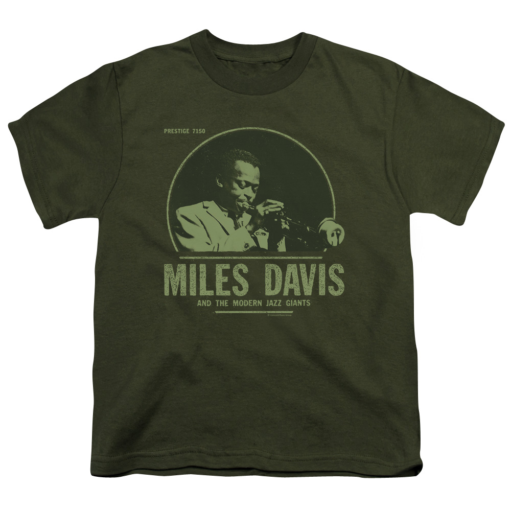Miles Davis Men's  The Green Miles T-shirt Green