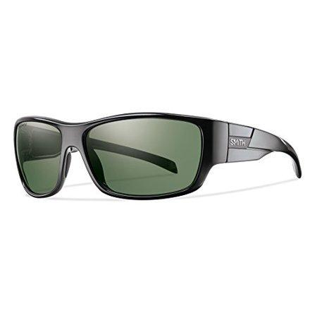 06dcafc7e9 Smith Optics - Smith Frontman Sunglasses - Polarized ChromaPop Black Gray  Green