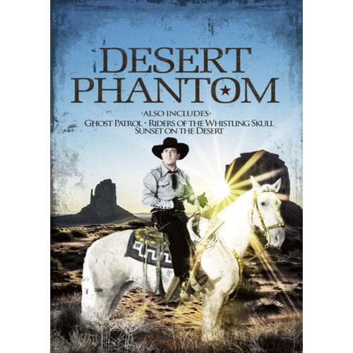 Desert Phantom   Ghost Patrol   Riders of the Whistling Skull   Sunset on the Desert by